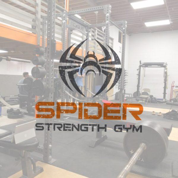 Spider Strength Gym Logo with Background