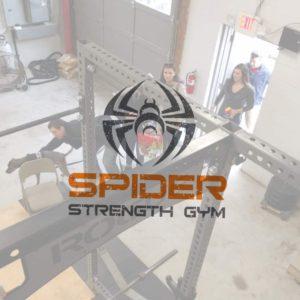 Spider Strength Gym Logo Tour