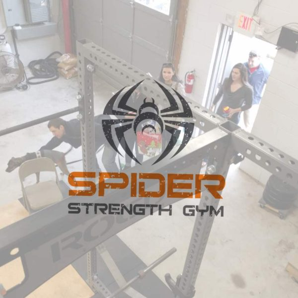Spider Strength Gym Logo Tour