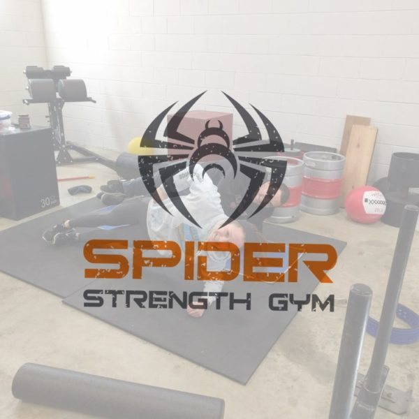Spider Strength Gym Logo with Couple