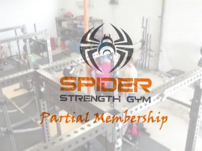 Spider Strength Gym Partial Membership